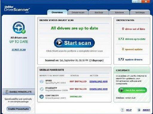 DriverScanner 2009 (любая версия) - поиск и обновление драйверов