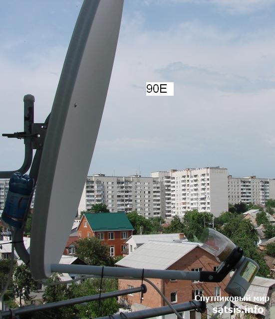 антена 0.9 харьков. YAMAL-90E