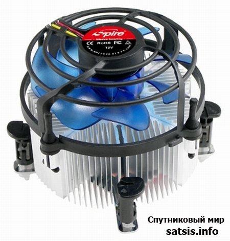 Система охлаждения наделена