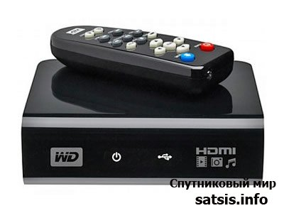 Western Digital HD TV WDAVP00BE