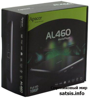 Обзор Сетевого медиаплеера Apacer AL460