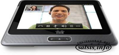 Планшет от Cisco на на основе ОС Android с поддержкой видео в HD