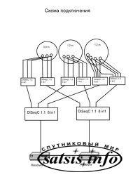 Схема DiSEqC