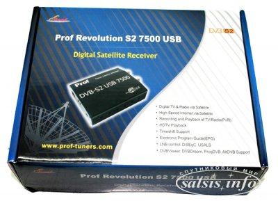 Prof Revolution 7500 USB DVB-S2