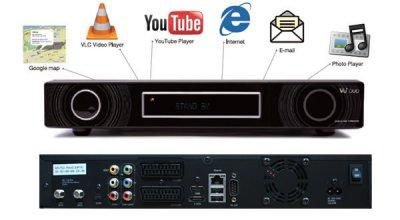 Спутниковый HDTV ресивер GI S9895/Vu+ Duo