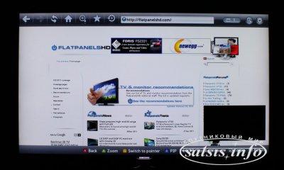 Обзор 3D ЖК телевизора Samsung D8000 серии