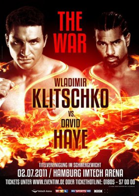 Бой: Владимир Кличко – Дэвид Хэй в прямом эфире