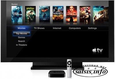 Apple может начать производство телевизоров под своей маркой