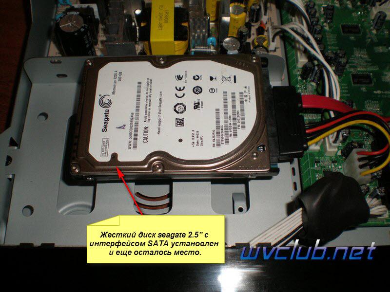 Установка жесткого диска во внутрь Xtrend ET9000 HD