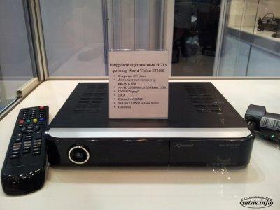 Цифровой спутниковый HDTV ресивер Xtrend ET6000