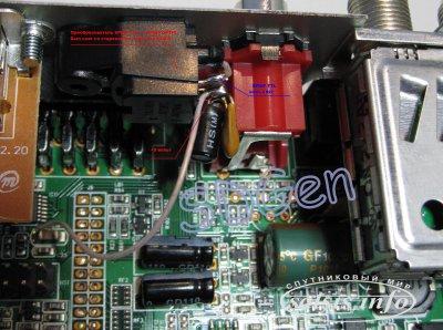 Оптический выход в AMIKO SHD-8900 своими руками.