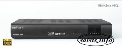 Спутниковый HDTV ресивер Optibox Gekko HD