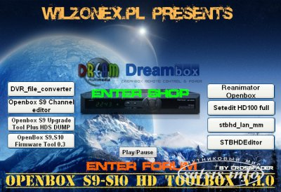 Openbox s9-s10 Toolbox v.1.1 by wilzonex