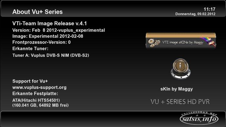New VTi %26quot;Vu%2B Team Image%26quot; - Vu%2B Duo v4.1 08.02.2012 OE 1.6
