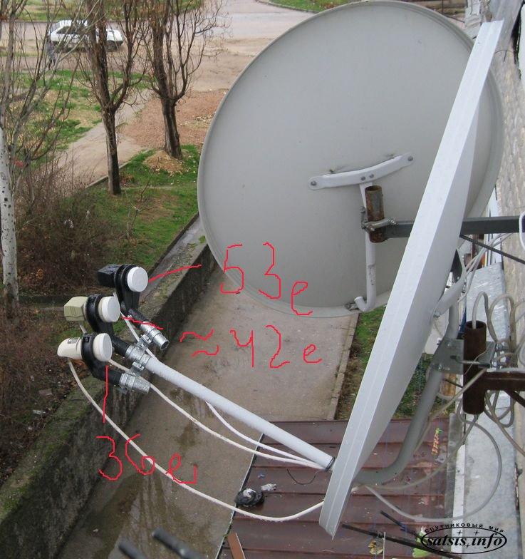 Установка спутниковой антенны в одессе своими руками 28