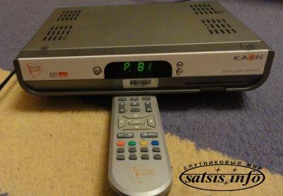 Цифровой Тв тюнер Kaon K-220 для Воля, Триолан и других провайдеров цифрового ТВ