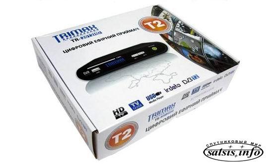 Обзор цифрового эфирного ресивера DVB-T2 Trimax TR-2012 HD