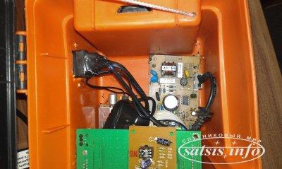 Прибор для настройки спутниковой тарелки OpenBox сделай сам