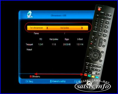 Списки каналов Gi S8120 HD Spark