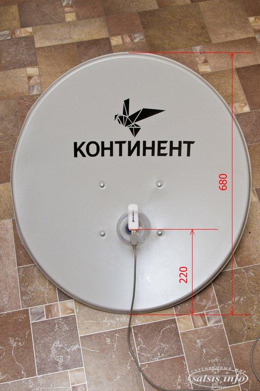 Как сделать спутниковую тарелку для модема
