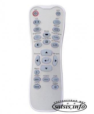Проектор для домашнего кинотеатра Optoma HD33