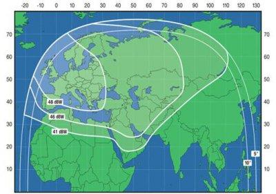 Расчет диаметра спутниковой антенны