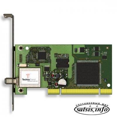 Technotrend TT-budget S-1401 -PCI плата DVB-S приемник