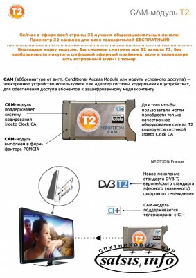 CАМ-модуль STRONG DVB-T2  Irdeto Cloaked CA