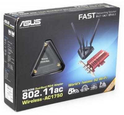 Беспроводные адаптеры ASUS PCE-AC66 и USB-AC53 с поддержкой 802.11ac