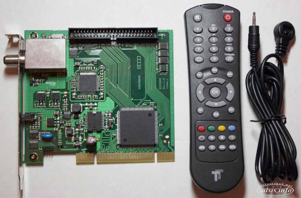 Technotrend TT-budget S2-3200 DVB-S/DVB-S2 PCI карта