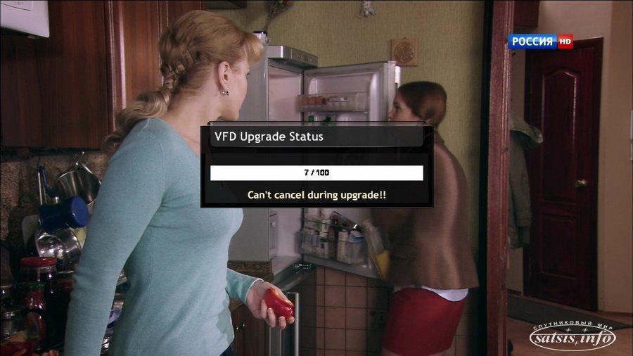 Обновления контролера дисплея (VFD) для VU+ Duo 2