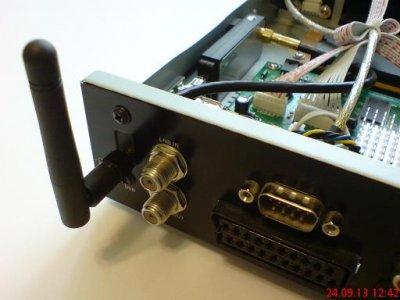 Установка Wi-Fi адаптера в ресивер TIGER T600 HD