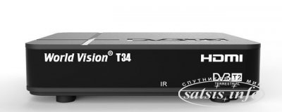Эфирный ресивер World Vision T34