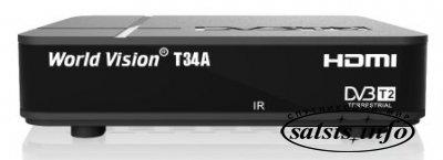 Эфирный ресивер World Vision T34A