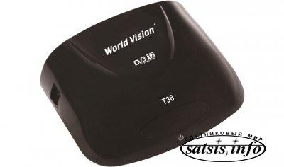Эфирный ресивер World Vision T38