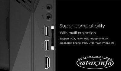 LCD проектор GM60A всего за 83.99$