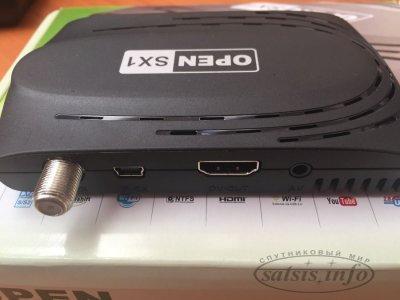 Новый бюджетный спутниковый приёмник Open SX1 HD