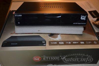 Цифровой спутниковый UHDTV ресивер GI ET11000 4K