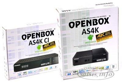 Вопросы по работе с Openbox AS4K, Openbox AS4K CI