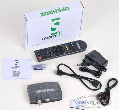Описание и ТТД ресивера Openbox S3 Micro HD.