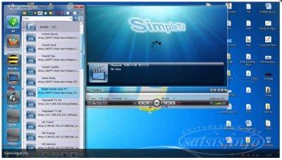 Программа для редактирования плейлистов IPTV - Simple TV  для Openbox