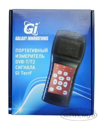 Цифровой сатфайндер GI TerrF измеритель DVB-T/T2 сигнала.