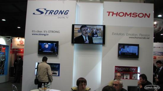 Стенд Strong DVB-T2