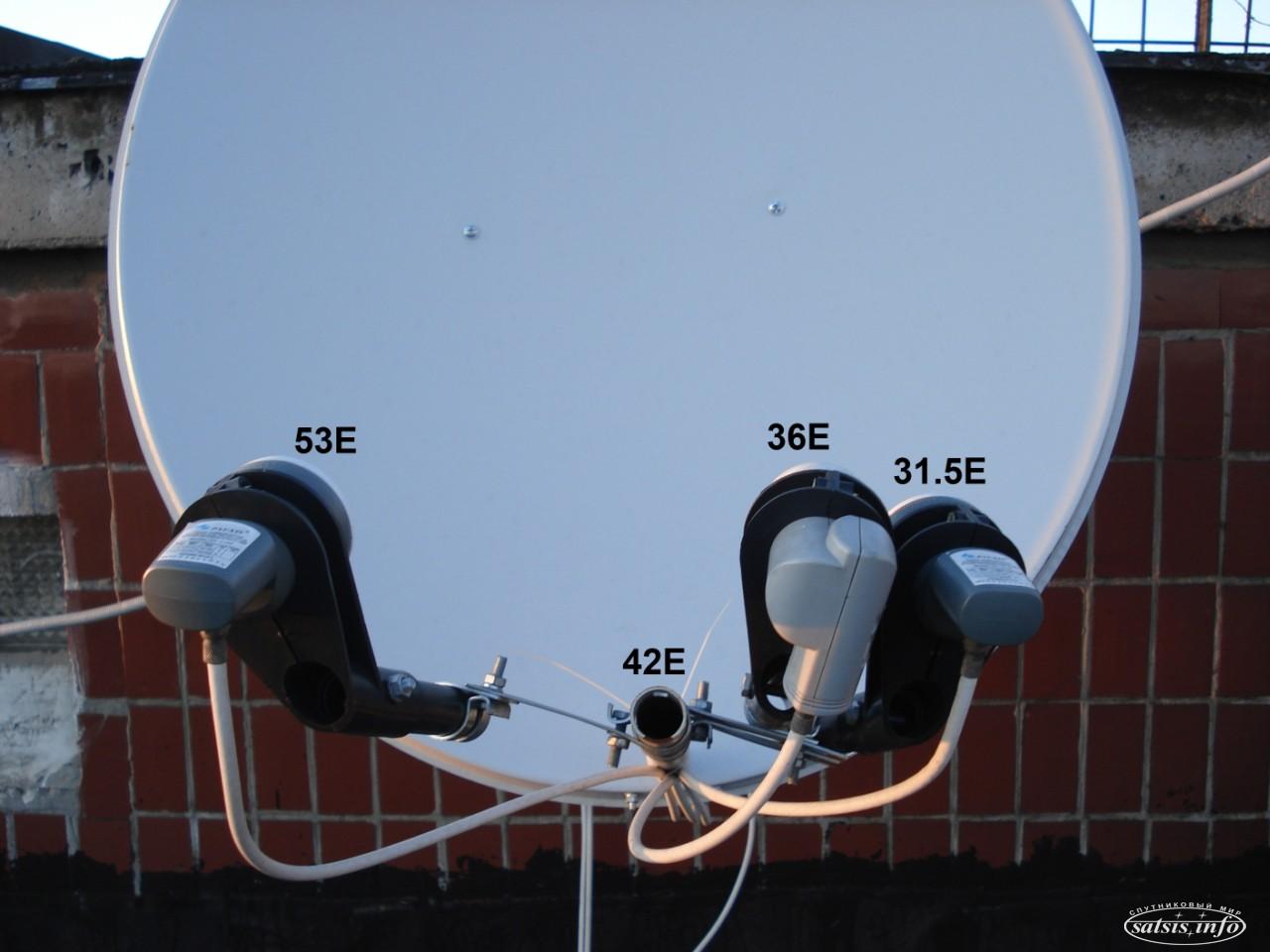 молодые расположение головок спутниковой антенны картинки статья