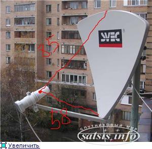 Как изготовить спутниковую тарелку