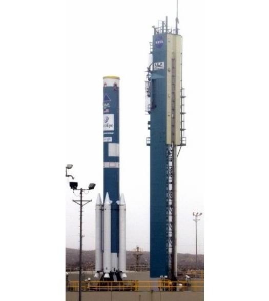 Google запускает новый спутник GeoEye-1