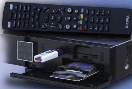 Новый спутниковый приёмник HDTV