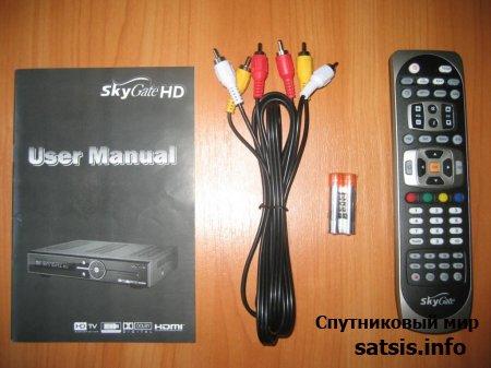 Спутниковое HD стало еще ближе - Обзор спутникового HD ресивера SkyGate HD PVR часть1