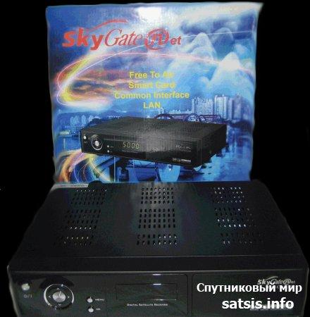 Просто добавь интернет! Обзор спутникового ресивера Sky Gate Net