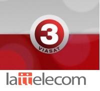 TV3 договорился с Lattelecom о цифровом вещании